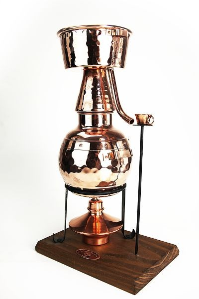CopperGarden  still Alquitara 0,5L with spirit lamp