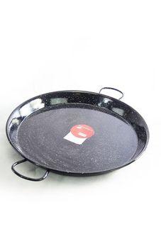 """""""Vaello"""" paella pan (46 cm) - black enamel"""