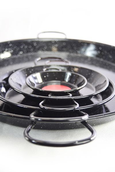 Vaello  paella pan (65 cm) - black enamelled