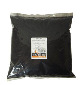 """1 kilo de carbón activado de la marca """"MoonshinersChoice®"""""""