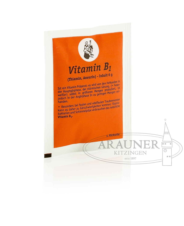ARAUNER Vitamin B1, Thiamin im 6 Gramm Beutel