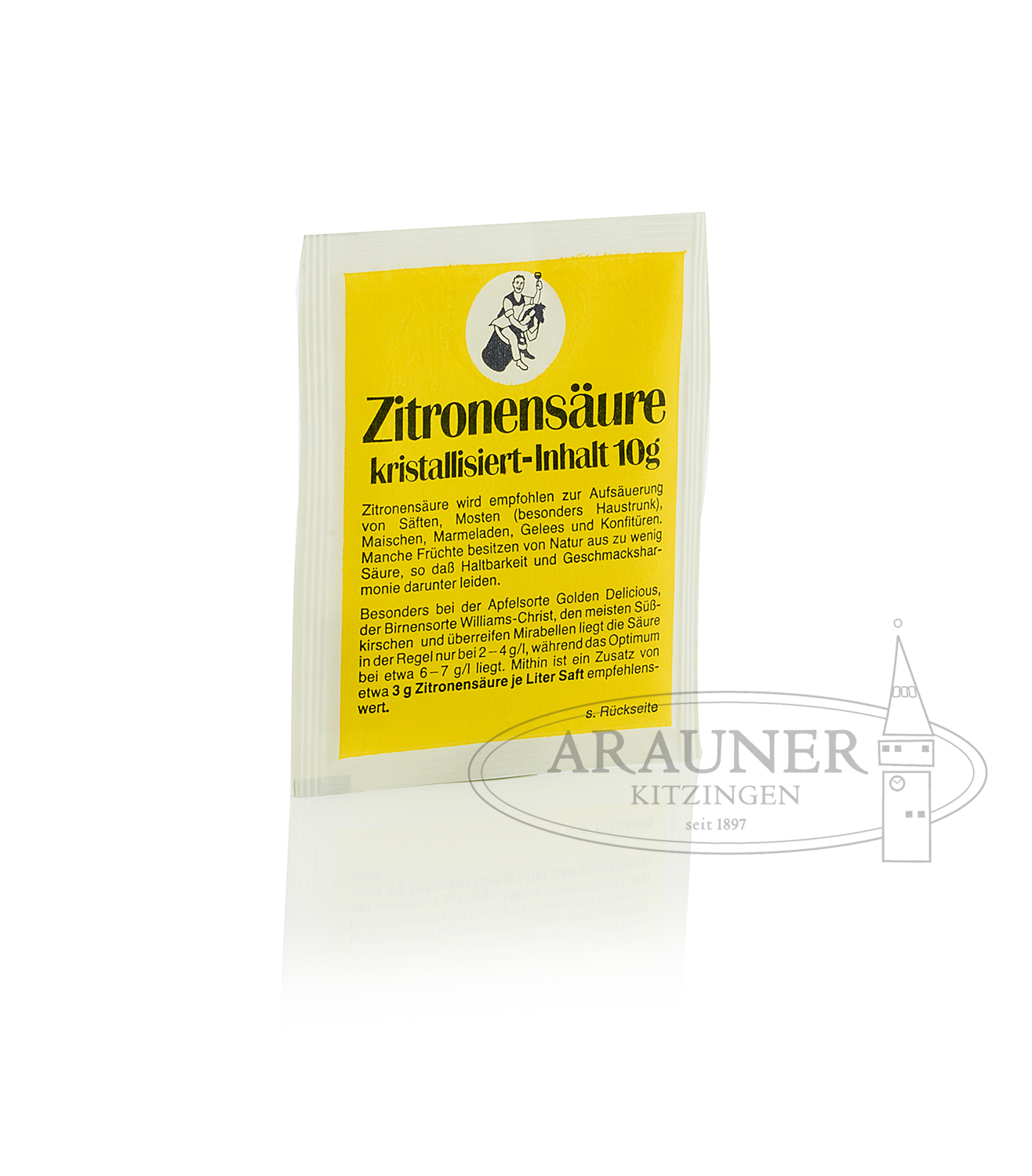 Acide citrique 10 g –  Arauner