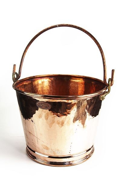 CopperGarden copper bucket / pail, approx. 8L