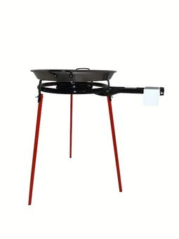 """Vaello"" Set: gas burner (40 cm), stand and paella pan"