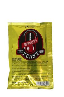 """Prestige"" Distillers Yeast - Turbo Yeast"