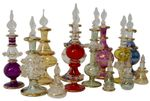 Egyptian Perfume Bottle, mixed colours and sizes