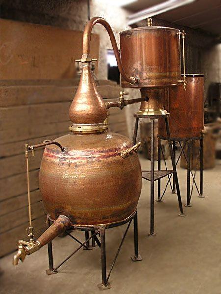 CopperGarden®  Cognacdestille Charentais 300L