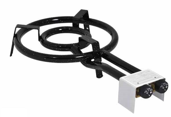 Vaello  paella gas burner (35 cm), two rings