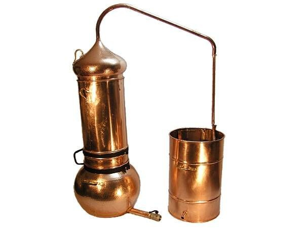 CopperGarden®  still - column still 100 liters