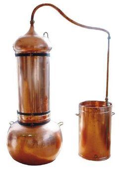 """Alambicco con colonna """"CopperGarden®"""" 250 litri"""
