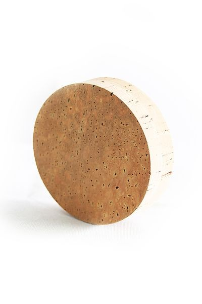 Natural cork stopper for wide-mouth carboys, 120 mm