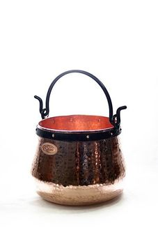 """CopperGarden®""  copper cauldron/witches' cauldron, 10 L"