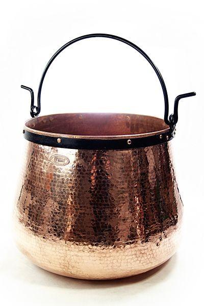 CopperGarden  Kupferkessel 150 Liter - Hexenkessel