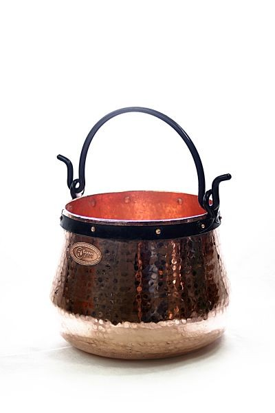 CopperGarden®   copper cauldron/witches' cauldron, 20 L