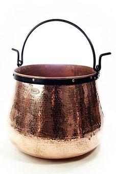 """Chaudron en cuivre artisanal 200 L - """"CopperGarden®"""""""