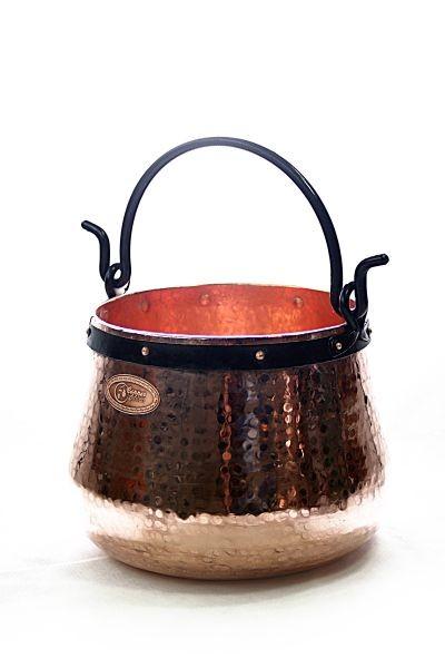 Chaudron en cuivre artisanal 30 L  CopperGarden®