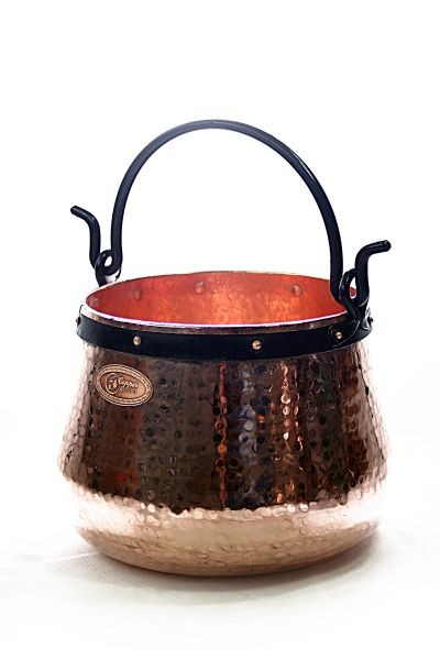 CopperGarden®   copper cauldron/witches' cauldron, 40 L