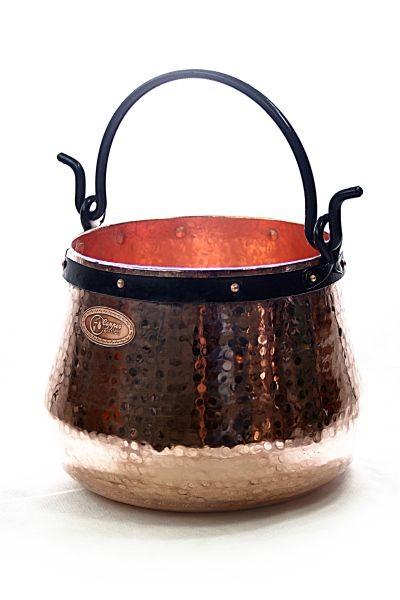 Chaudron en cuivre artisanal  60 litres -  CopperGarden®