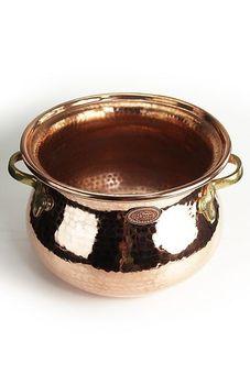 """""""CopperGarden®""""  Copper pot for Feuerzangenbowle, 10 L"""