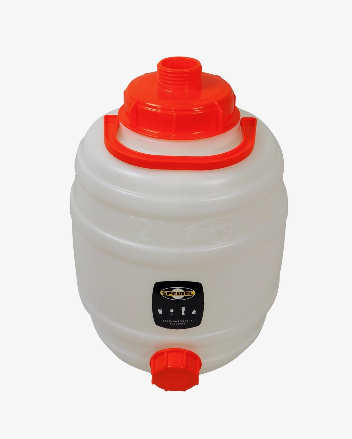 Speidel  Mostfass 12 Liter ❀ mit 2 Deckeln