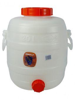 """""""Speidel"""" Mostfass 20 Liter mit Deckeln"""