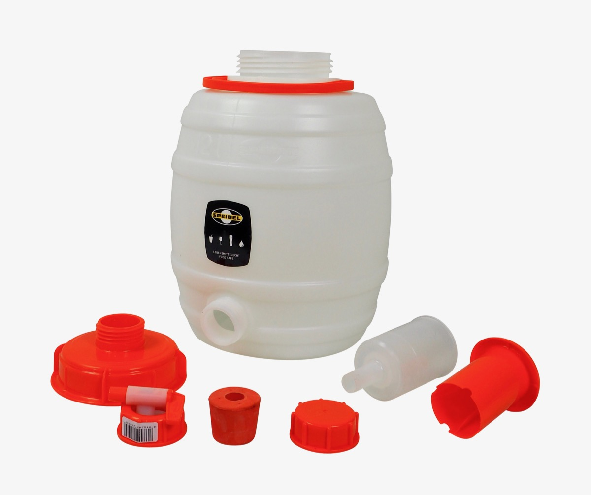 Set:  Speidel  must container 12 liters complete with all fittings