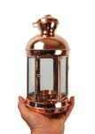"""CopperGarden®"" Copper & Glass Lantern, 24 cm"