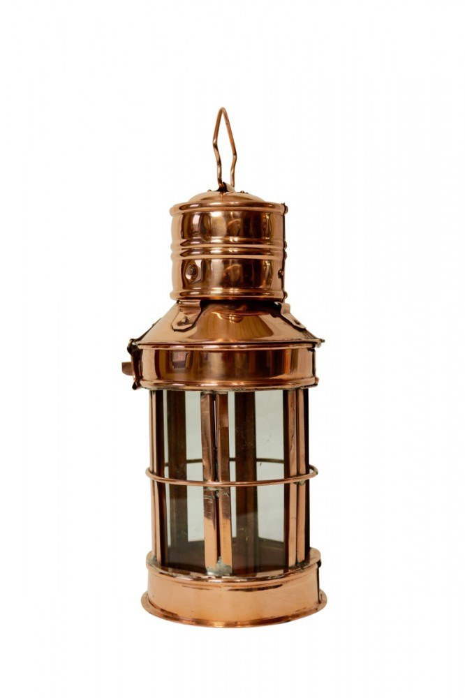 CopperGarden®  Copper & Glass Lantern, 30 cm