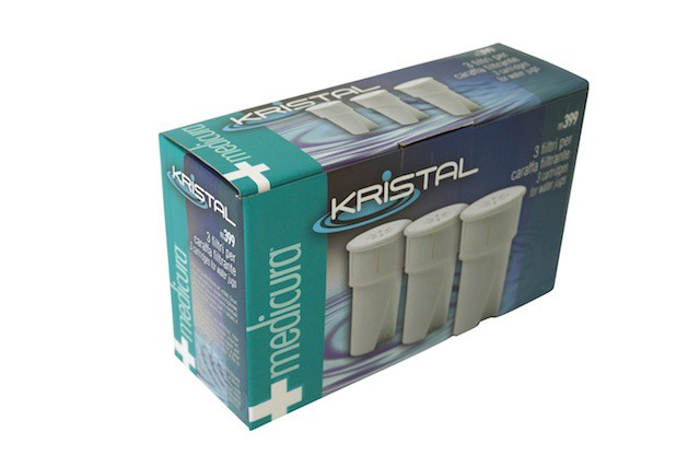 Medicura  3 x filter cartridges for water filter