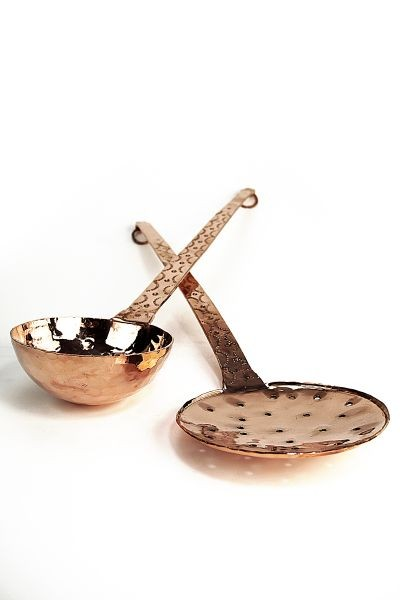 Chaudron en cuivre artisanal de 5l coppergarden for Ustensiles de cuisine en cuivre