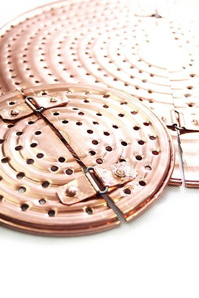 CopperGarden®  Copper Mash Sieve (300L) - prevents burning of the mash