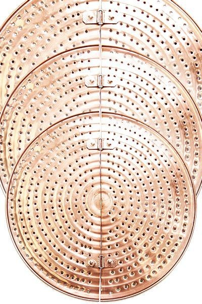 CopperGarden®  Copper Mash Sieve (500L) - prevents burning of the mash