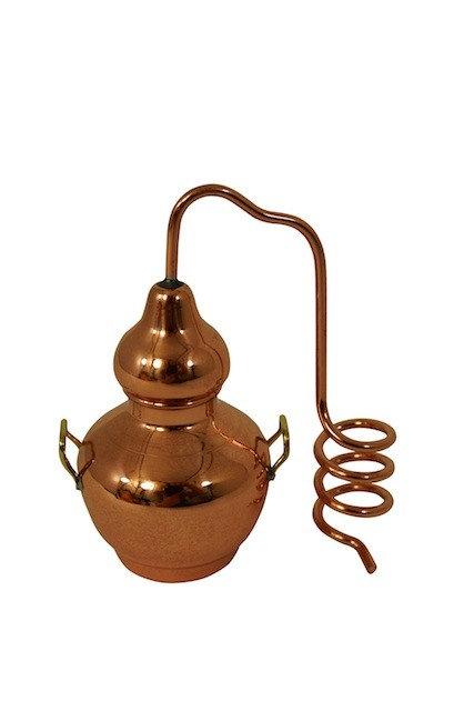 CopperGarden®  Miniature Copper still for decoration - only 9cm