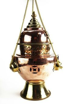 """Basilika"" incense burner"