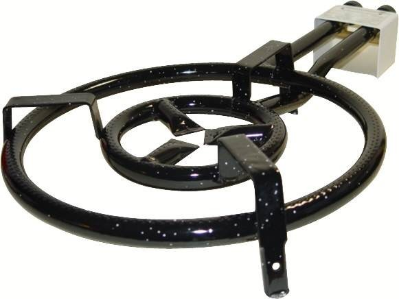 VAELLO  paella gas burner (50 cm), two rings
