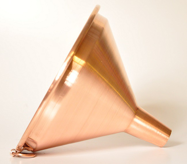 CopperGarden®  copper funnel 20 cm