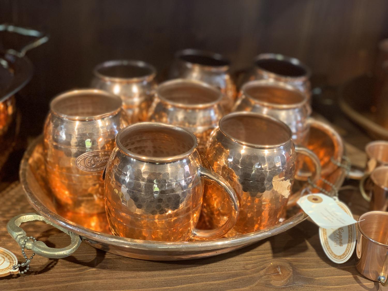 Gobelet en cuivre 0,5 litre -  CopperGarden®
