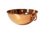 """""""CopperGarden®"""" Rührschüssel aus Kupfer ❁ Größe M = Ø 24 cm"""