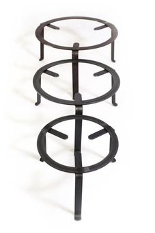 Iron stand / tripod 50 cm - for cooking & presentation