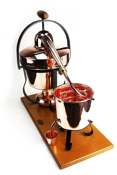 Dispositif de distillation HOBBY II, 2,5L - CopperGarden®
