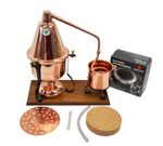 """CopperGarden®"" Italia 2 L electric distillation apparatus with aroma basket"
