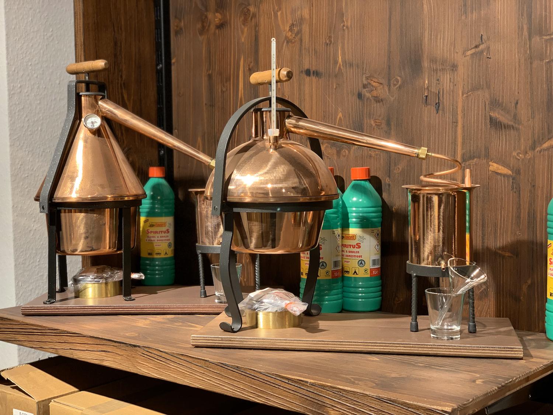"""/""""Ferrari/"""" 2 Liter Tischdestille ❀ mit Sicherheitsverschluß ❀ 1A Hobby Destille"""