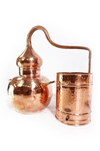 CopperGarden®  still Alembic 20L ECO & Thermometer