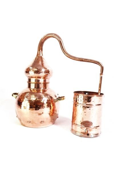 Alambic 5 L ECO, riveté avec thermomètre-   CopperGarden®
