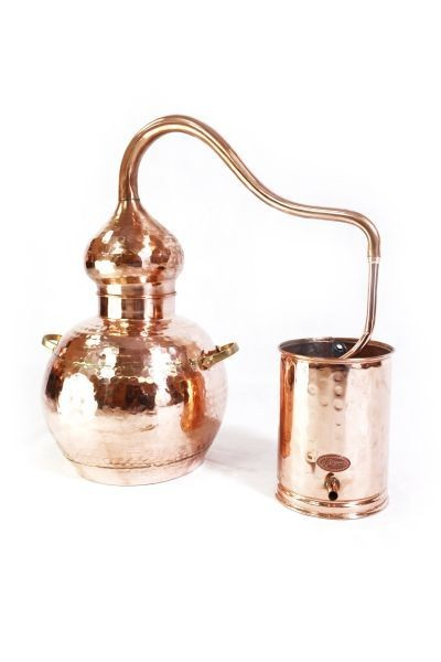 Alambic 10 L ECO, riveté avec thermomètre -  CopperGarden®