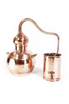 """CopperGarden®"" still Alembic 10L ECO & thermometer"