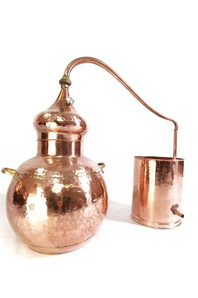Alambic 30 L ECO, riveté avec thermomètre -  CopperGarden®