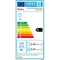 Amica EB 943100 E Einbau-Backofen Edelstahl, Aqualytic, 65 Liter, Multifunktion, autark, EEK: A – Bild 5