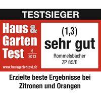 Rommelsbacher ZP 85/E Elektrische Zitruspresse Edelstahl – Bild 2