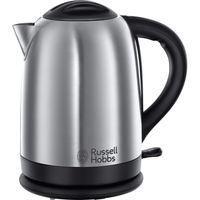 Russell Hobbs 20090-70 Oxford Wasserkocher, 2400 Watt, 1,7 Liter, Edelstahl gebürstet